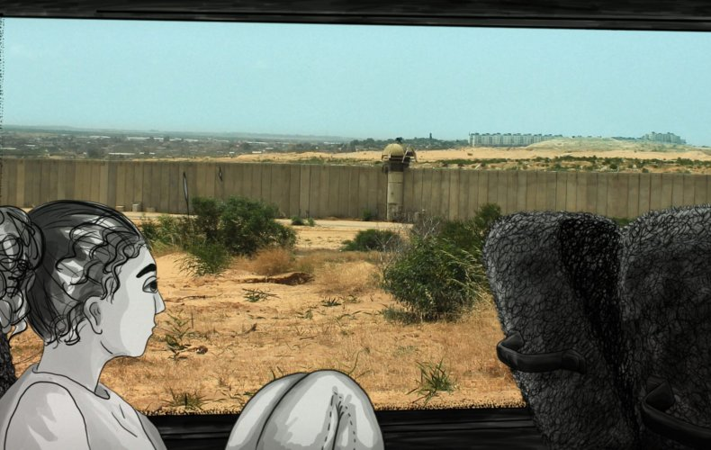 Resedagbok från Film Bus Project i Israel