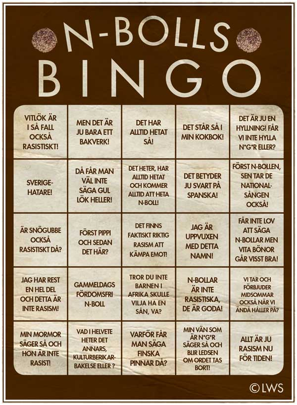 N-bolls bingo av Lisa Wool-Rim Sjöblom