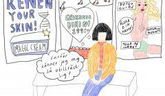 """Seriestrip """"Reklam"""" av Sanna Granqvist"""