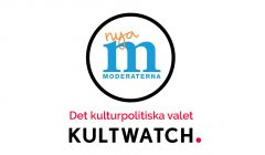Kulturpolitik 2018: Moderaterna