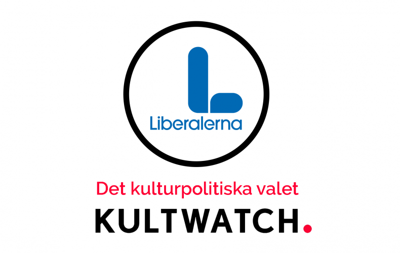 Kulturpolitik 2018: Liberalerna
