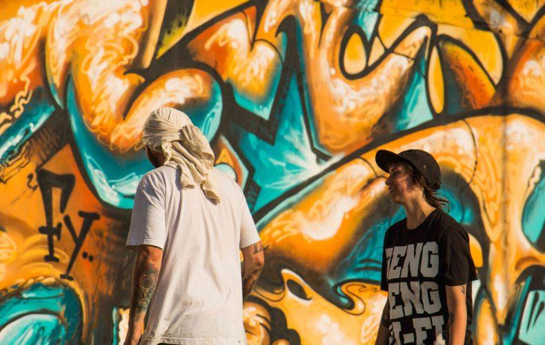 """Graffitilegenden Ligisd: """"De kallar oss klottrare och vandaler"""""""