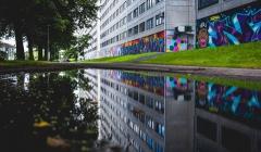 En förort i färg: konst i Miljonprogrammet