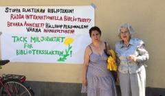 Stor kampanj för att stoppa nedläggningen av Internationella biblioteket